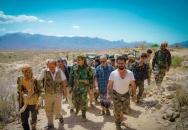 اللواء السقطري يتفقد سير العمليات القتالية في جبهات شمال الضالع