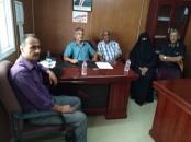 رئيس الدائرة الاقتصادية يناقش مع رئيس جمعية المتقاعدين المدنيين سُبل حل مشاكلهم ومعاناتهم