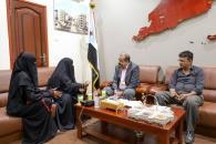 اللواء بن بريك يؤكد أن المجلس الانتقالي لن يدخر جهدا لإعطاء محافظة أبين المكانة التي تستحقها