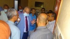 """تنفيذا لتوجيهات الرئيس الزُبيدي.. الدكتور الوالي يقف على الاستعدادات الجارية لمواجهة خطر """"كورونا"""""""