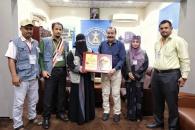 """مؤسسة """"أمل"""" تُكرم اللواء بن بريك لرعايته ودعمه  تكريم عمال ونزلاء دار المسنين بالعاصمة عدن"""