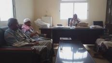 """قيادة انتقالي ساه تناقش مع المدير العام للمديرية الاستعدادات لمواجهة """"كورونا"""""""