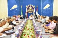اللجنة العليا للإغاثة بالمجلس الانتقالي تشدد على تنفيذ الاجراءات الوقائية والاحترازية لمواجهة فيروس كورونا