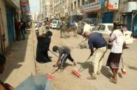 لليوم الثاني.. تواصل حملة النظافة الشاملة بمديريات العاصمة عدن