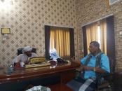 نائب رئيس انتقالي المهرة يناقش مع مدير  مستشفى الغيضة الاحتياجات العاجلة لمجابهة كورونا
