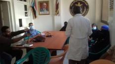 لجنة الإغاثة بانتقالي المنصورة تقيم محاضرة توعوية عن خطر فيروس كورونا والوقاية منه