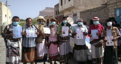 انتقالي المحفد يدشن الحملة التوعوية للوقاية من فيروس كورونا بالمديرية