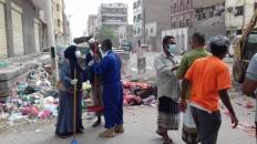 تواصل أعمال المرحلة الثانية من حملة النظافة الشاملة بالعاصمة عدن