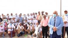 لجنة الاغاثة بالمجلس الانتقالي تختتم حملة النظافة الشاملة بالعاصمة عدن (تقرير)