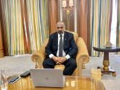 عبر الإتصال المرئي.. الرئيس القائد عيدروس الزُبيدي يعقد اجتماعاً مع المبعوث الخاص السويدي إلى الشرق الأوسط وشمال أفريقيا