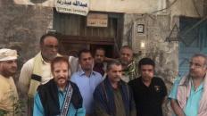 ممثلون عن الإدارة الذاتية يزورون أسرة المناضل الكبير عبدالنبي مدرم