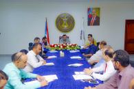 الأمانة العامة تعقد اجتماعها الدوري وتناقش وضع الخدمات