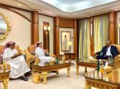 الرئيس القائد عيدروس الزُبيدي يستقبل اللواء عبدالله غانم القحطاني والعميد حسن الشهري
