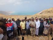 رئيس انتقالي سقطرى يدشن إنشاء موقع عسكري استطلاعي بمنطقة رأس مومي