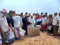 رئيس انتقالي سقطرى يتسلم قطعة أرض مقدمة من أبناء بيت بلعبودة لإنشاء موقع عسكري للقوات الجنوبية