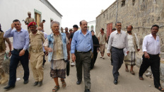 لجنة متابعة أوضاع السجون تزور سجن الصولبان وعدداً من أقسام الشرط بالعاصمة عدن