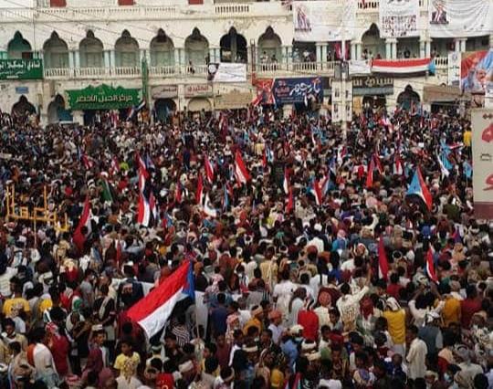 """حضرموت تقول كلمتها: """"المجلس الانتقالي يمثلنا والإدارة الذاتية واتفاق الرياض مطلبنا"""""""