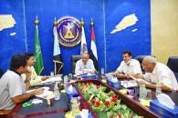 الدكتور عبدالسلام حُميد يترأس اجتماعاً للجنة المُكلفة بالإشراف على قطاع التجارة والصناعة والأسواق