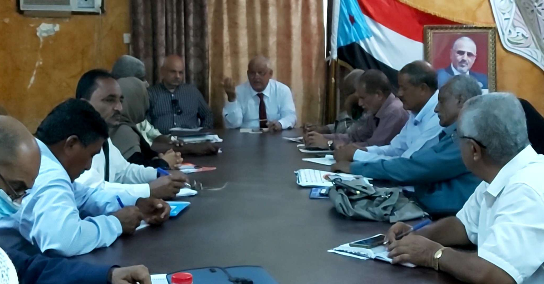 تنفيذية انتقالي العاصمة عدن تعقد اجتماعها الدوري برئاسة الدكتور الوالي