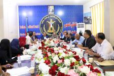 اللواء بن بريك يترأس الاجتماع الدوري للهيئة الإدارية للجمعية الوطنية