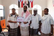 لجنة الزواج الجماعي الخيري الأول بحي 14 أكتوبر تكرم قيادة انتقالي سيحوت
