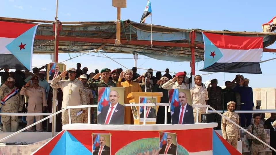 بحضور قيادات الانتقالي.. القوات الجنوبية في سقطرى تقيم عرضاً عسكرياً مهيباً بمناسبة ذكرى ثورة 14 أكتوبر