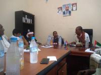 اللجنة الإشرافية والرقابية على المرافق الخدماتية والإيرادية بانتقالي سقطرى تعقد اجتماعها الأول