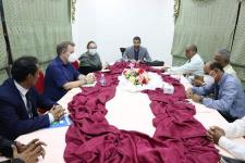 قيادة انتقالي حضرموت تلتقي فريق خبراء لجنة العقوبات الدولية التابعة لمجلس الأمن
