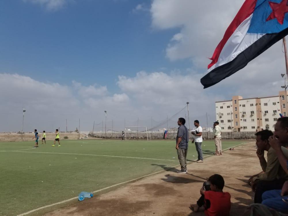 انتقالي خورمكسر يدشن بطولة الشيخ محمد بن زايد لكرة الخُماسية للمدارس الثانوية بالمديرية