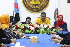 بحضور نزار هيثم.. دائرة المرأة والطفل تعقد أول اجتماعاتها مع الإدارات بالعاصمة عدن