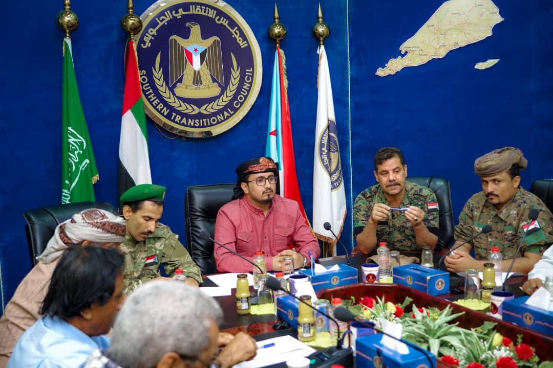 العولقي يلتقي أعضاء الجمعية الوطنية وانتقالي شبوة وقيادة القوات الخاصة ومكافحة الإرهاب