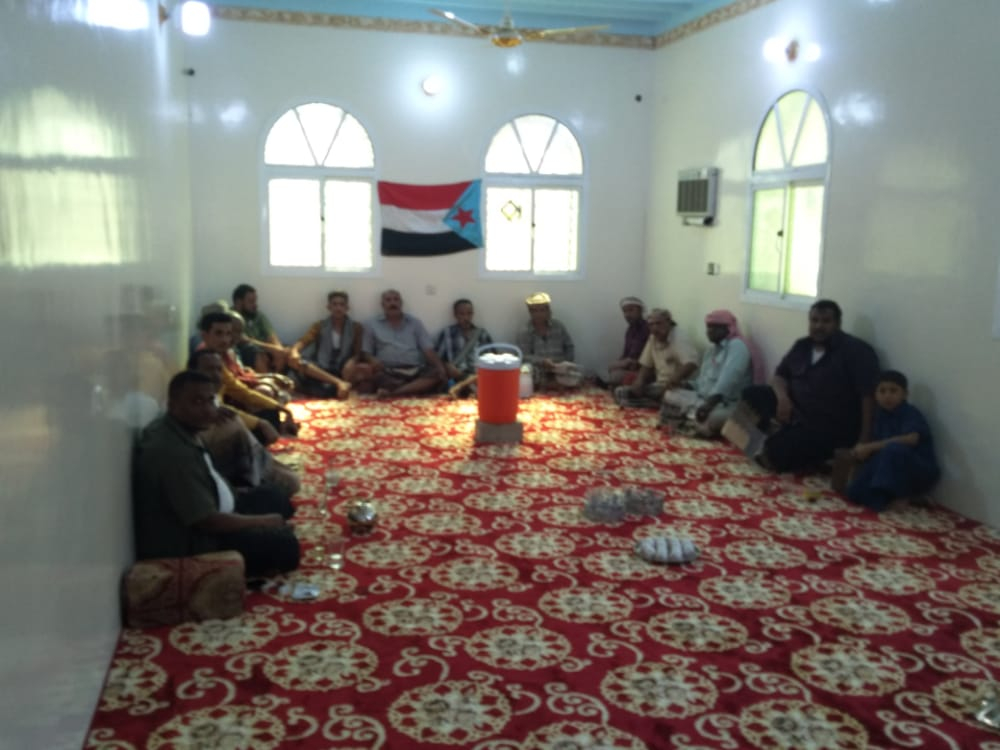 """انتقالي عمد يشهر لجنته المحلية بالمركز """"و"""" بمنطقة بامهشم وسدة بن يسلم"""