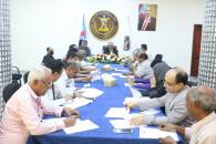 الأمانة العامة تعقد اجتماعها الدوري وتقف على أداء عدد من دوائرها
