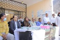 دوائر الأمانة العامة تشارك في حفل تكريم أوائل مدرسة الشهيد جعفر بالعاصمة عدن