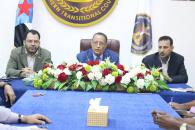 الخبجي يعقد لقاءً برؤساء دوائر الأمانة العامة لهيئة رئاسة المجلس الانتقالي الجنوبي