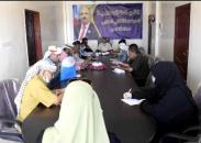 تنفيذية انتقالي لحج تقف أمام الأوضاع الصحية المتفاقمة جراء تفشي وباء كورونا