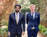 الممثل الخاص للرئيس الزُبيدي يلتقي رئيس بعثة الاتحاد الأوروبي