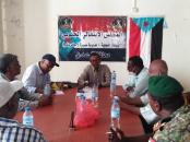سياسية تنفيذية انتقالي العاصمة عدن تطلع على نشاط الإدارة السياسية بتنفيذية انتقالي صيرة