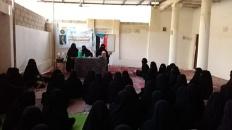إدارة المرأة والطفل بتنفيذية انتقالي القطن تواصل نزولاتها الميدانية لمراكز المديرية