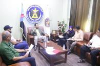 لجنة الإغاثة والأعمال الإنسانية تقر آلية توزيع مكرمة الرئيس الزُبيدي الرمضانية