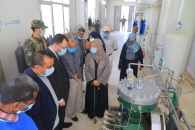 الكاف وسوقي يعيدان افتتاح وحدة تعبئة الأوكسجين بمستشفى الجمهورية التعليمي بالعاصمة عدن