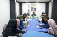 هيثم يترأس اجتماعا للجنة الإغاثة والأعمال الإنسانية بانتقالي العاصمة عدن