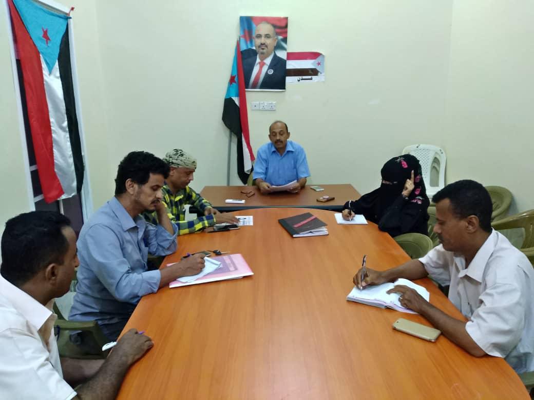 تنفيذية انتقالي الشيخ عثمان تقر خطة أنشطتها لشهر رمضان