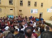 أهالي العنين يحتفلون بالعيد تحت شعارات الانتقالي وصور الرئيس القائد عيدروس الزُبيدي