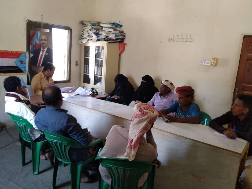 تنفيذية انتقالي حديبو تبحث سُبل دعم المرأة والأيتام وذوي الإعاقة