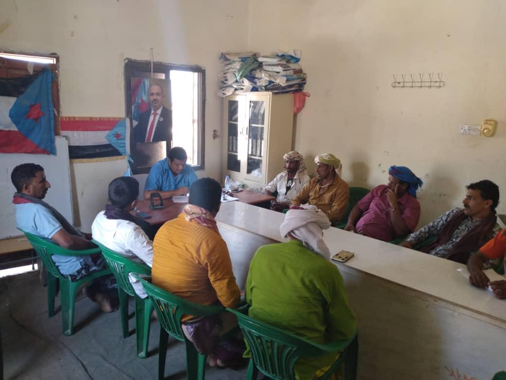 رئيس تنفيذية حديبو يترأس اجتماعاً استثنائياً برؤساء اللجان المحلية بمراكز المديرية