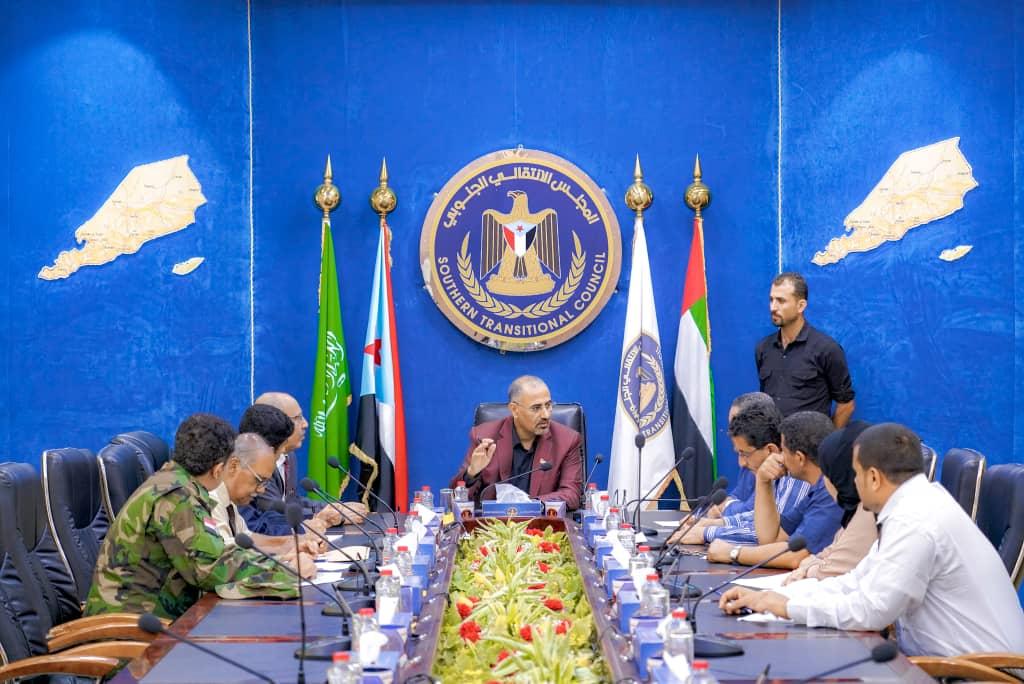 الرئيس الزُبيدي يدشن عمل الهيئة الوطنية للإعلام الجنوبي