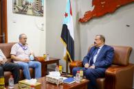 رئيس الجمعية الوطنية يستقبل رئيس عمليات الأمم المتحدة في اليمن