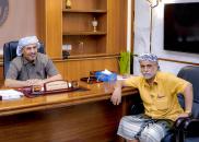 الرئيس الزُبيدي يلتقي الشخصية الاجتماعية الشيخ وديع البرهمي