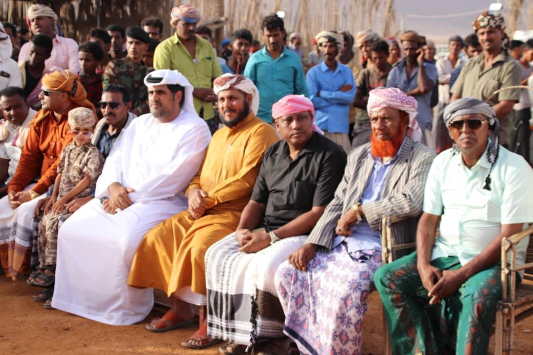 الثقلي يدشن فعاليات مهرجان الشيخ زايد للتراث والفنون الشعبية السقطرية بمنطقة نوجد